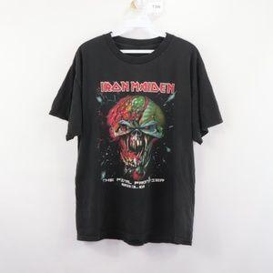 Iron Maiden 2010 Final Frontier Rock Tour Shirt M